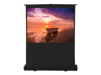 EluneVision Portable Pneumatic Air-Lift Projection screen floor-standing 100INCH (100 in)