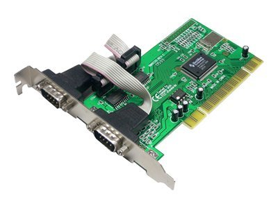 LogiLink PCI Card 2x RS232 - Serieller Adapter - PCI - RS-232 x 2