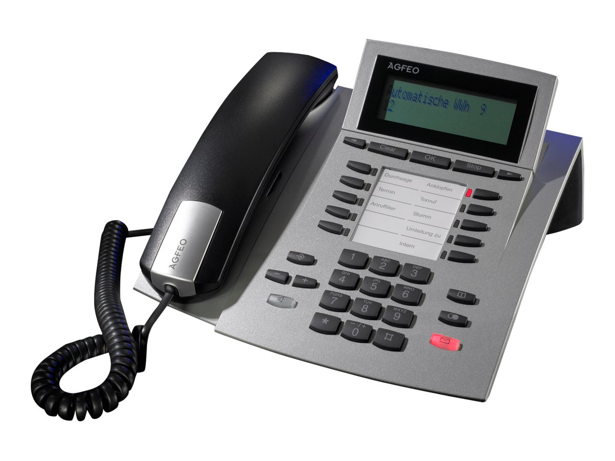 AGFEO ST 22 IP - VoIP-Telefon - Silber
