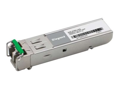 C2G Dell 430-4586 1000Base-ZX SFP Transceiver TAA - SFP (mini-GBIC) transceiver module - GigE - TAA Compliant