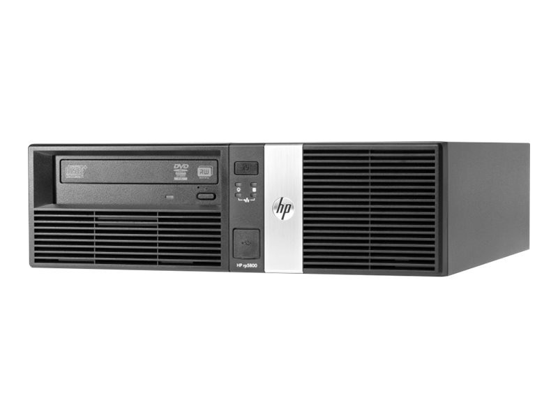 HP Point of Sale System rp5800 - DT - 1 x Core i7 2600 / 3.4 GHz - RAM 8 GB - HDD 500 GB - HD Graphics 2000
