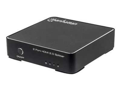 Manhattan - Video-/Audio-Splitter - 2 x HDMI - Desktop