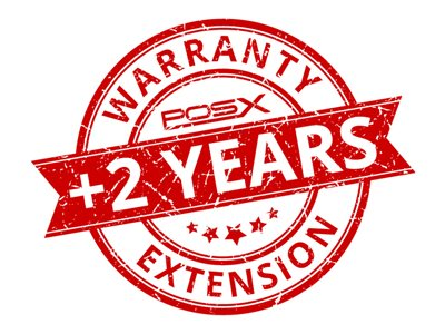 POS-X Extended Service Extended service agreement (extension) replacement 2 years