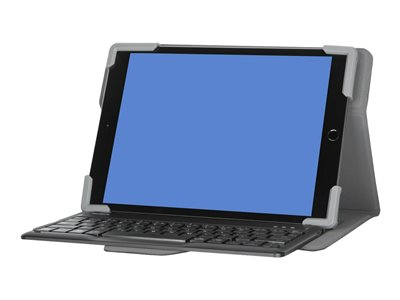 Targus Pro-Tek Universal Keyboard and folio case wireless Bluetooth 5.0 QWERTY