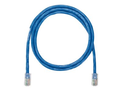 Panduit NetKey patch cable - 3 m - blue