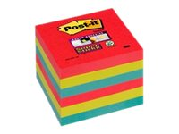 Notes repositionnables Notes Super Sticky Post-it Bora Bora - 76 x 76 mm - 6 blocs
