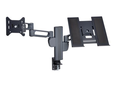 Kensington SmartFit Desk mount for 2 monitors or one monitor and notebook (adjustable arm)