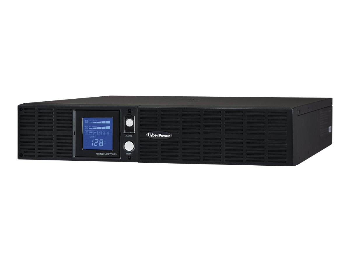 CyberPower Smart App Intelligent LCD OR2200LCDRTXL2U - UPS - 1650 Watt - 2190 VA