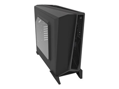 Mid tower - ATX - no power supply - black, silver - USB/Audio