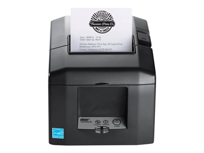 Star TSP TSP654CloudPRNT-24 GRY SK US Label printer two-color (monochrome) thermal paper