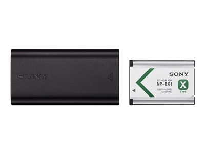 Sony ACC-TRDCX battery charger - with battery - Li-Ion