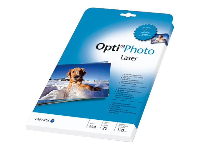 Papyrus Opti Photo Laser - Fotopapier - glossy - High White - A4 (210 x 297 mm) - 170 g/m²