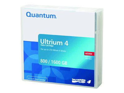 Quantum - LTO Ultrium WORM 4 x 1 - 800 GB - storage media