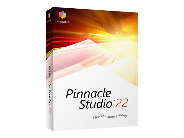 Pinnacle Studio - (v. 22) - ensemble de boîtes - 1 utilisateur - Win - Multilingue - Europe