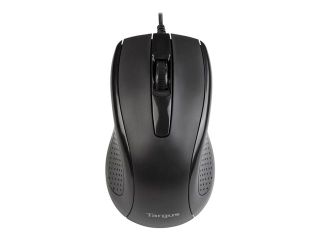 Targus Full-Size - Mouse - optical - 3 buttons
