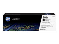 HP 201X - High Yield - black - original - LaserJet - toner cartridge (CF400X) - for Color LaserJet Pro M252dn, M252dw, M252n, MFP M274n, MFP M277c6, MFP M277dw, MFP M277n