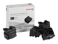 Xerox - 4 - black - solid inks - for ColorQube 8570, 8570DN, 8570DT, 8570N, 8580_ADN, 8580_ADNM, 8580_AN, 8580_ANM