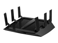 NETGEAR Nighthawk X6S R8000P Wireless router 4-port switch GigE 802.11a/b/g/n/ac -