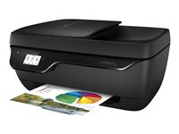 HP Officejet 3833 All-in-One - Imprimante multifonctions - couleur - jet d'encre - 216 x 297 mm (original) - A4 (support) - jusqu'à 7 ppm (copie) - jusqu'à 20 ppm (impression) - 60 feuilles - USB 2.0, Wi-Fi(n)