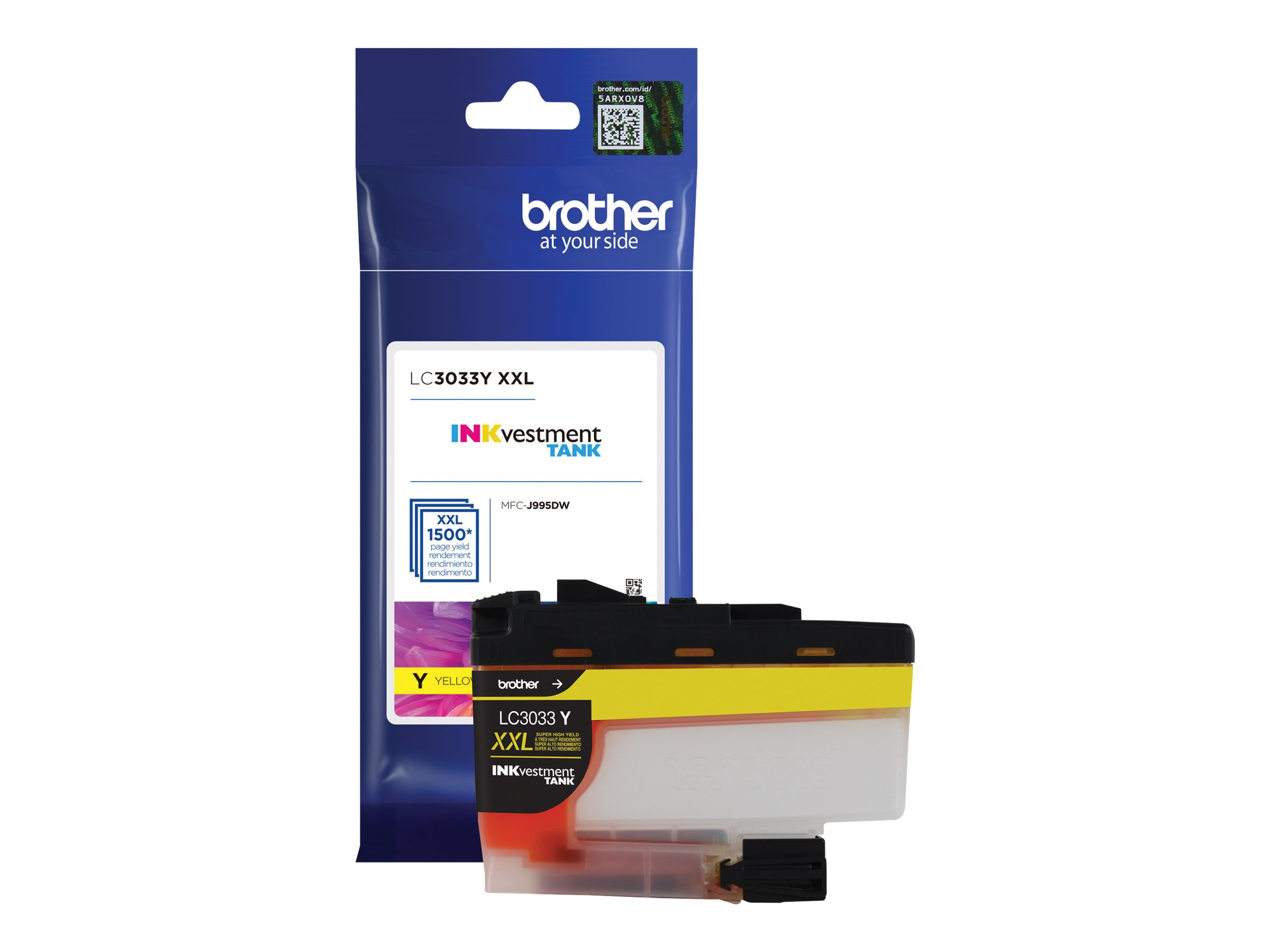 Brother LC3033Y - Super High Yield - yellow - original - ink cartridge