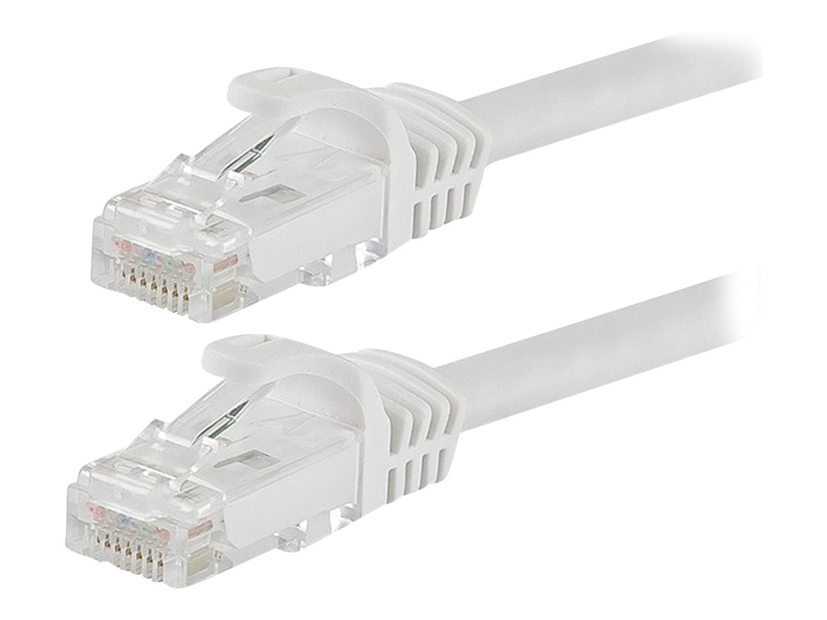 Monoprice FLEXboot Series patch cable - 7.62 m - white