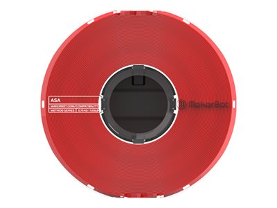 MakerBot Red 22.9 oz ASA filament (3D) for MakerBot Method X