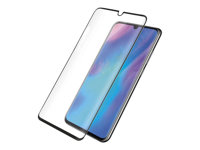 PanzerGlass Case Friendly sort, Krystalklar for Huawei P30 Pro
