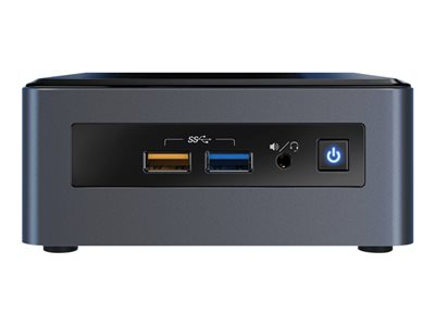 Intel Next Unit of Computing Kit NUC8i3CYSM - Mini PC - 1 x Core i3 8121U / 2.2 GHz - RAM 8 Go - HDD 1 To - Radeon 540 - GigE, Bluetooth 5.0 - LAN sans fil: 802.11a/b/g/n/ac, Bluetooth 5.0 - Win 10 Familiale 64 bits - moniteur : aucun
