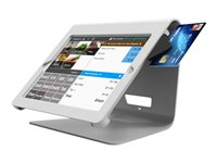 """Compulocks Nollie iPad 9.7"""" POS Counter Top Kiosk White - Stand for tablet"""