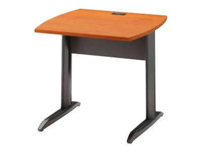 Jazz JAZZ - Table bureau - 80 cm - Pieds metal - Finition aulne