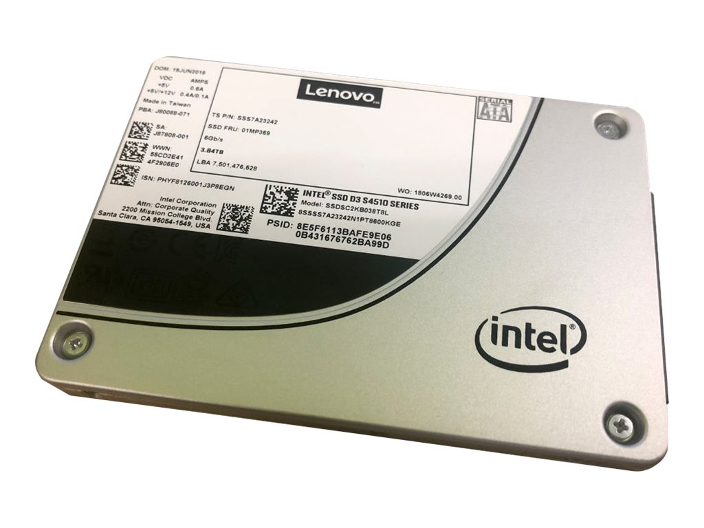 Intel S4510 Entry - solid state drive - 480 GB - SATA 6Gb/s
