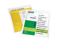 Fellowes Laminating Pouches 5 mil 50-pack glossy 9 in x 1