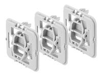 Bosch Smart Home Adapter Kopp (K) - Switch mounting adapter (pack of 3)