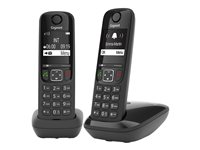 Gigaset AS690 Duo - Cordless phone with caller ID
