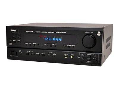 PyleHome PT588AB AV receiver 5.1 channel black