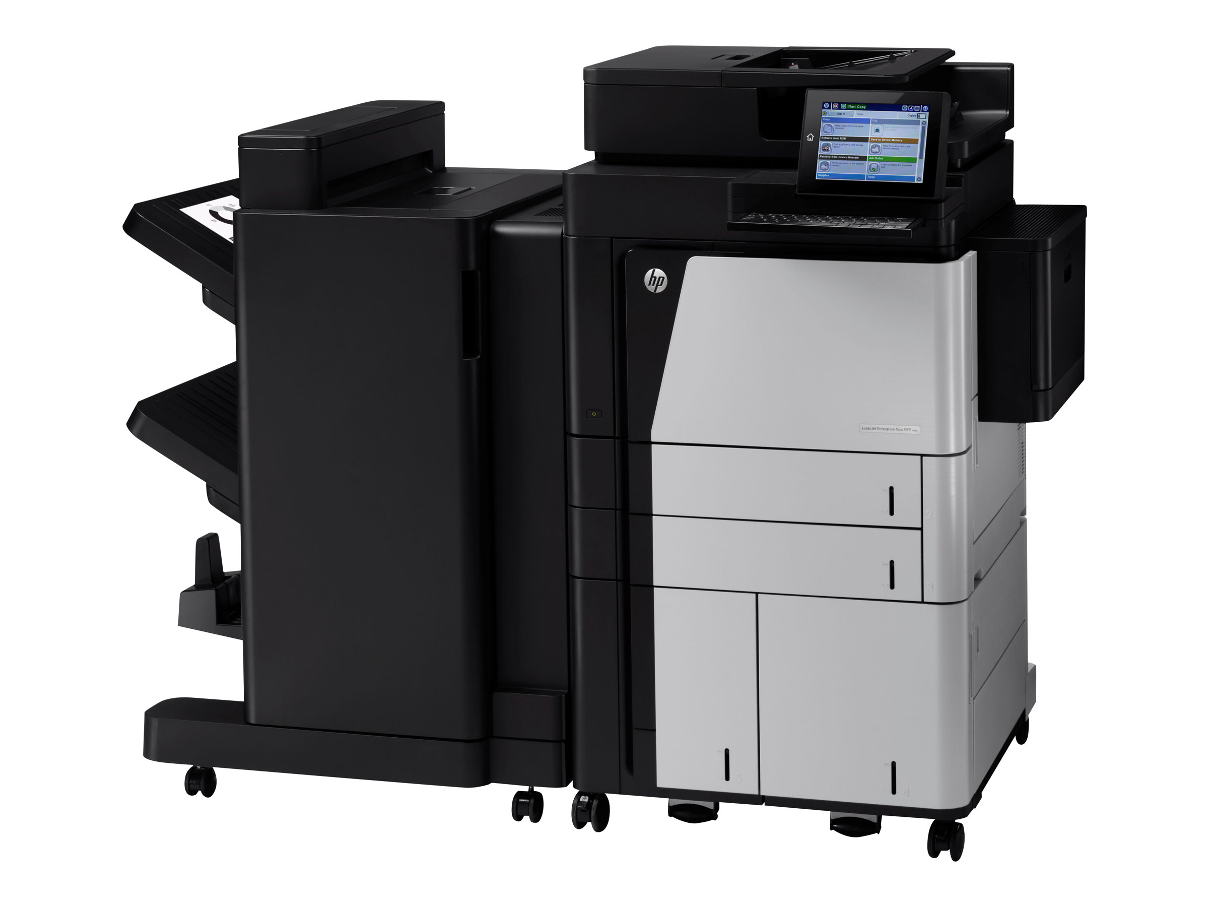 HP LaserJet Enterprise Flow MFP M830z NFC/Wireless direct - Multifunktionsdrucker - s/w - Laser - A3/Ledger (297 x 432 mm) (Original) - A3/Ledger (Medien)
