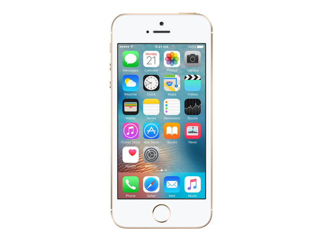Apple iPhone SE - or - 4G LTE - 128 Go - CDMA / GSM - smartphone