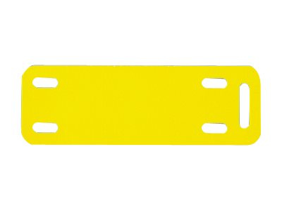 Panduit Thermal Transfer Marker Plates - labels - 500 label(s) - 76.2 x 12.7 mm