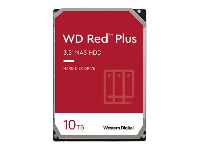 WD Red Plus NAS Hard Drive WD100EFAX