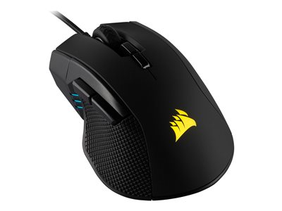 CORSAIR Gaming IRONCLAW RGB FPS/MOBA Optisk Kabling Sort