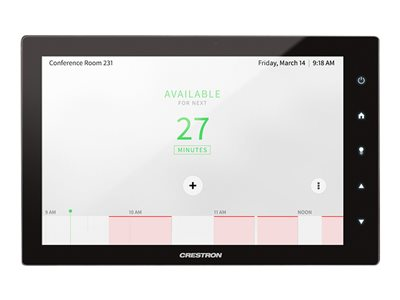 Crestron Room Scheduling Touch Screen TSS-10-B-S image