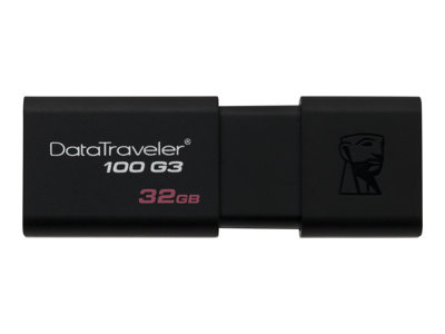 Kingston DataTraveler 100 G3 - USB flash drive - 32 GB