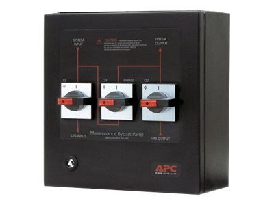 APC Service Bypass Panel - bypass switch