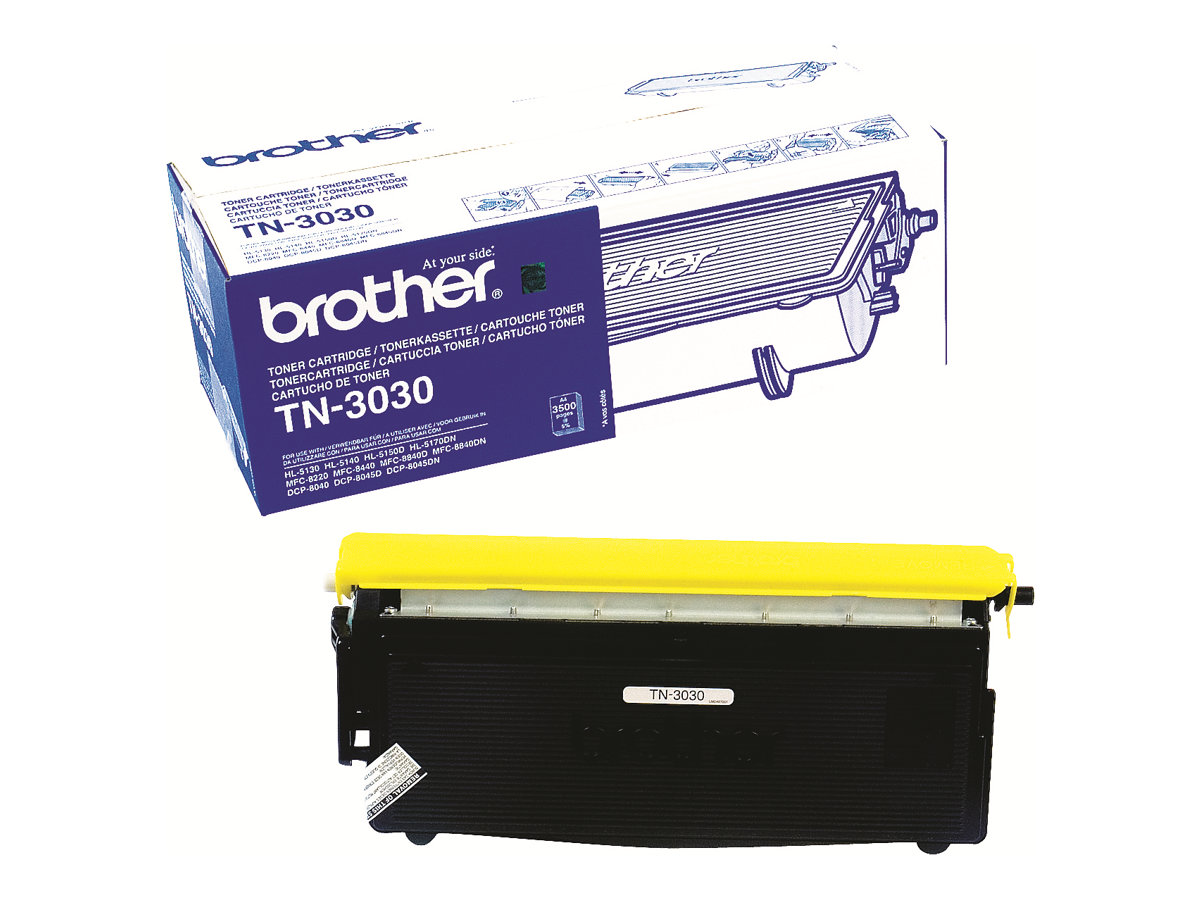 Brother TN3030 - Schwarz - Original - Tonerpatrone - für Brother DCP-8040, 8045, HL-5130, 5140, 5150, 5170, MFC-8220, 8440, 8840