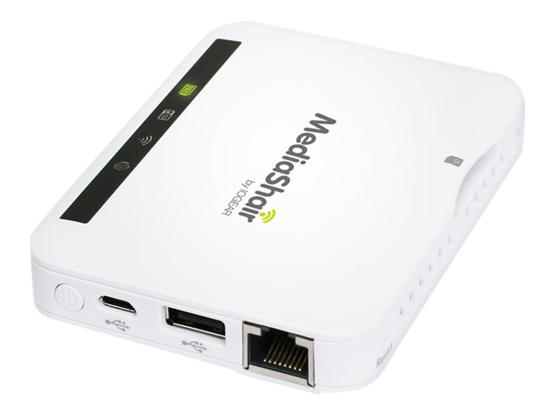 IOGEAR MediaShair 2 Wireless Media Hub w/Built-in Power Station - network media streaming adapter