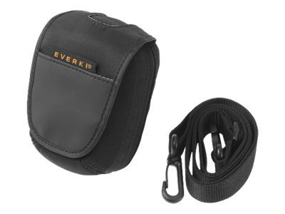 Everki Focus Compact Camera Case for camera with zoom lens nylon black