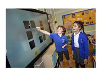 "Clevertouch - 55"" Class - Plus Series LED display - with touchscreen - 4K UHD (2160p) 3840 x 2160"