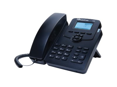 AudioCodes 450HD IP Phone VoIP phone 3-way call capability SIP, SDP 2 lines black