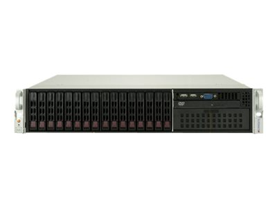 Supermicro SuperServer 2029P-C1RT Server rack-mountable 2U 2-way no CPU RAM 0 GB