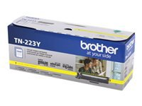 Brother TN-223Y - Yellow - original - toner cartridge - for Brother DCP-L3550, HL-L3210, L3230, L3270, L3290, MFC-L3710, L3730, L3750, L3770